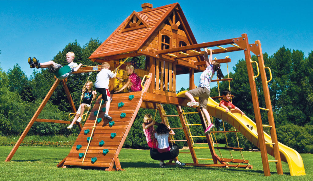 детская зона на даче