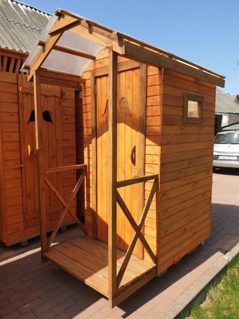 типовой туалет для дачи