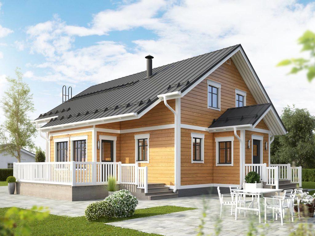 строительство каркасных домов работа