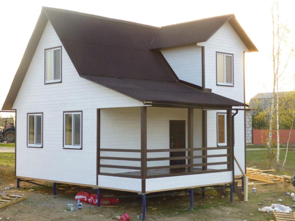 строительство недорогих каркасных домов