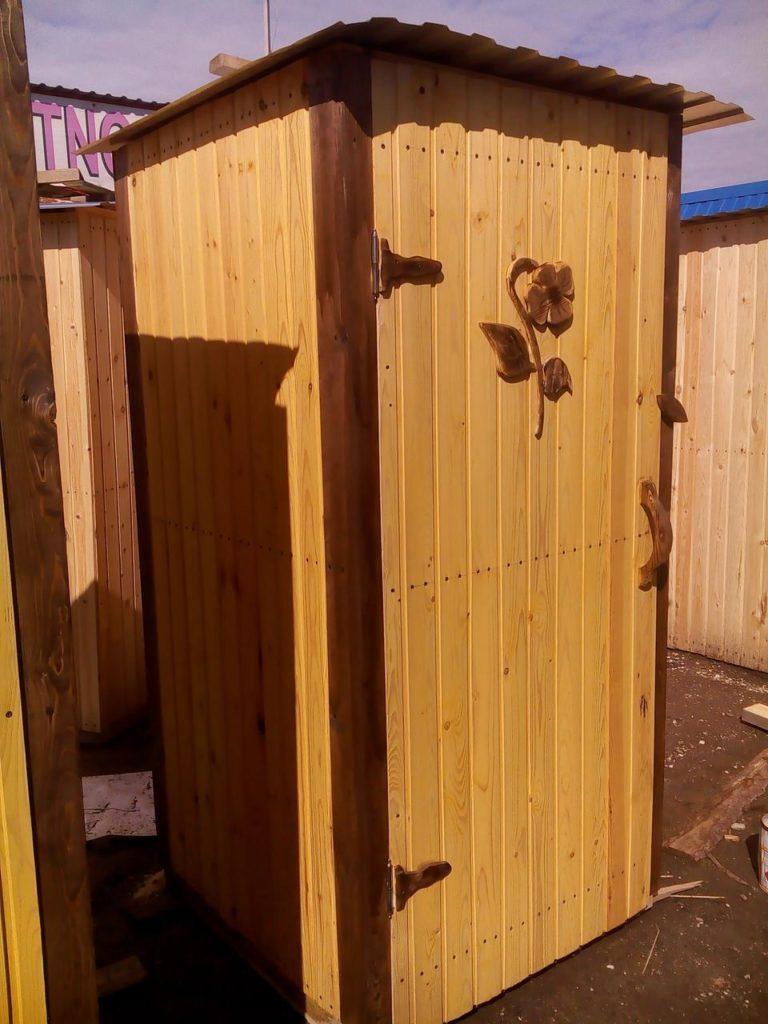 деревянный туалет своими руками