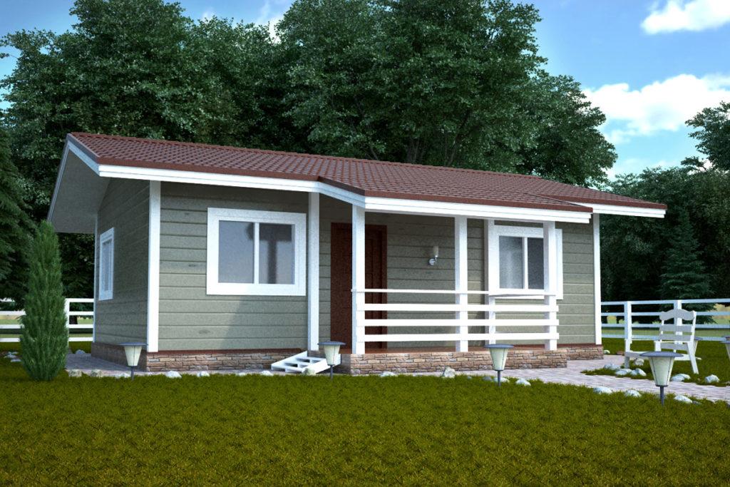 проект дома по финской технологии