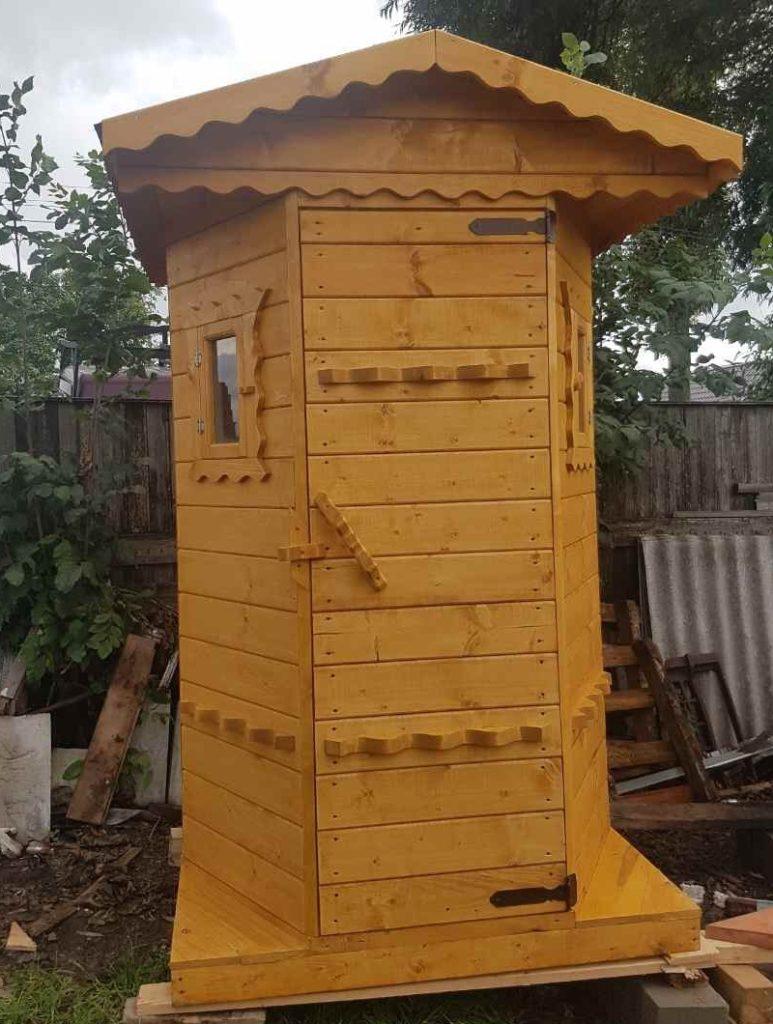 туалет уличный своими руками