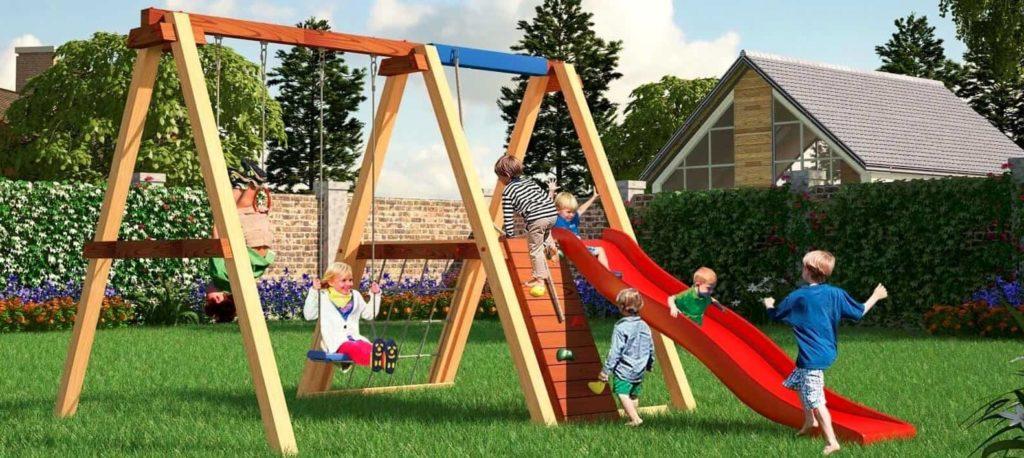 как сделать детскую площадку своими руками