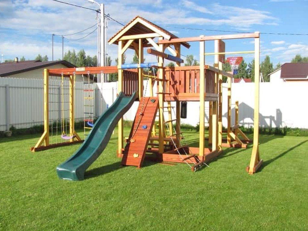 игровая площадка для детей на даче