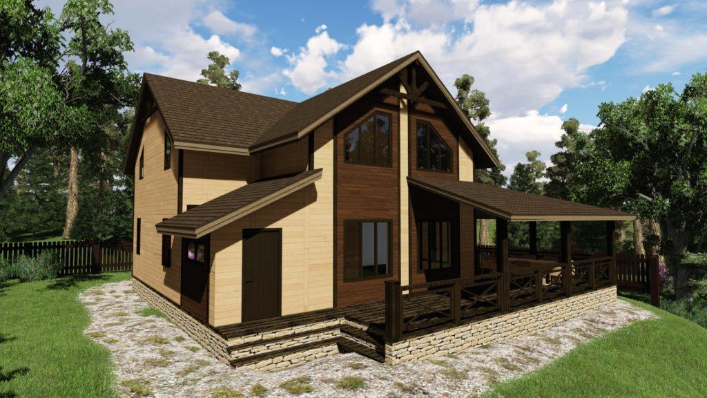 проект дома на 4 человека