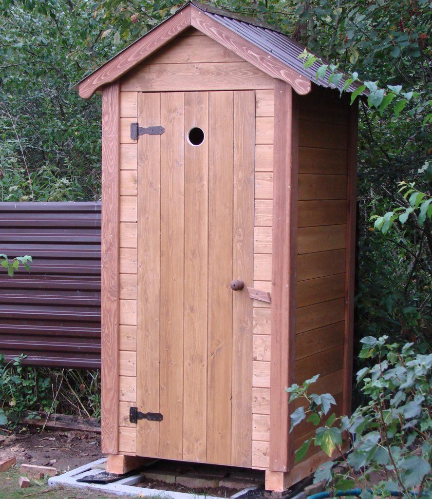 простой недорогой туалет