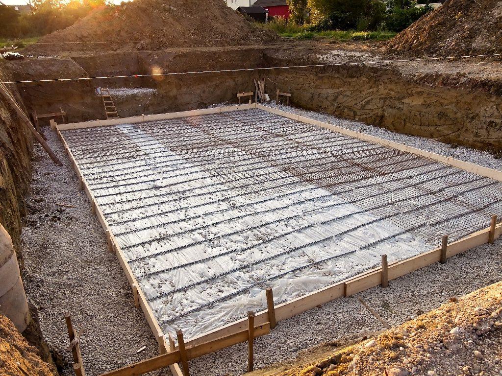 плита из бетона