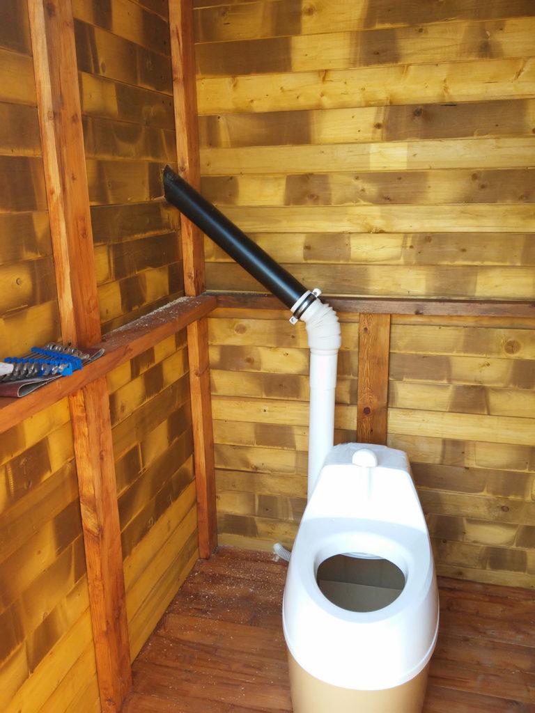 вентиляционная труба обязана быть выведена выше уровня крыши