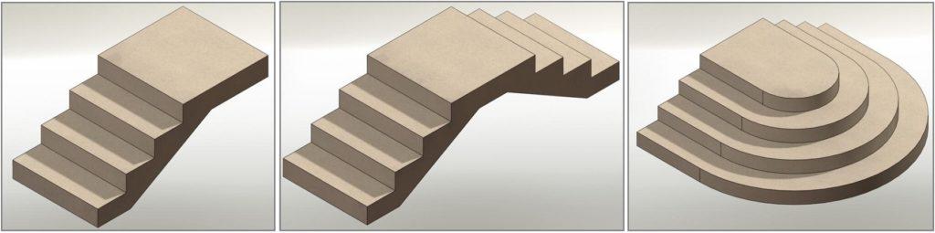 проекты бетонных крылечек