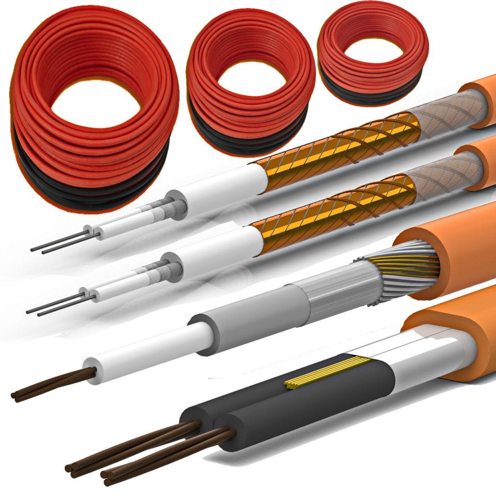 Греющий кабель для водопровода — виды и монтаж