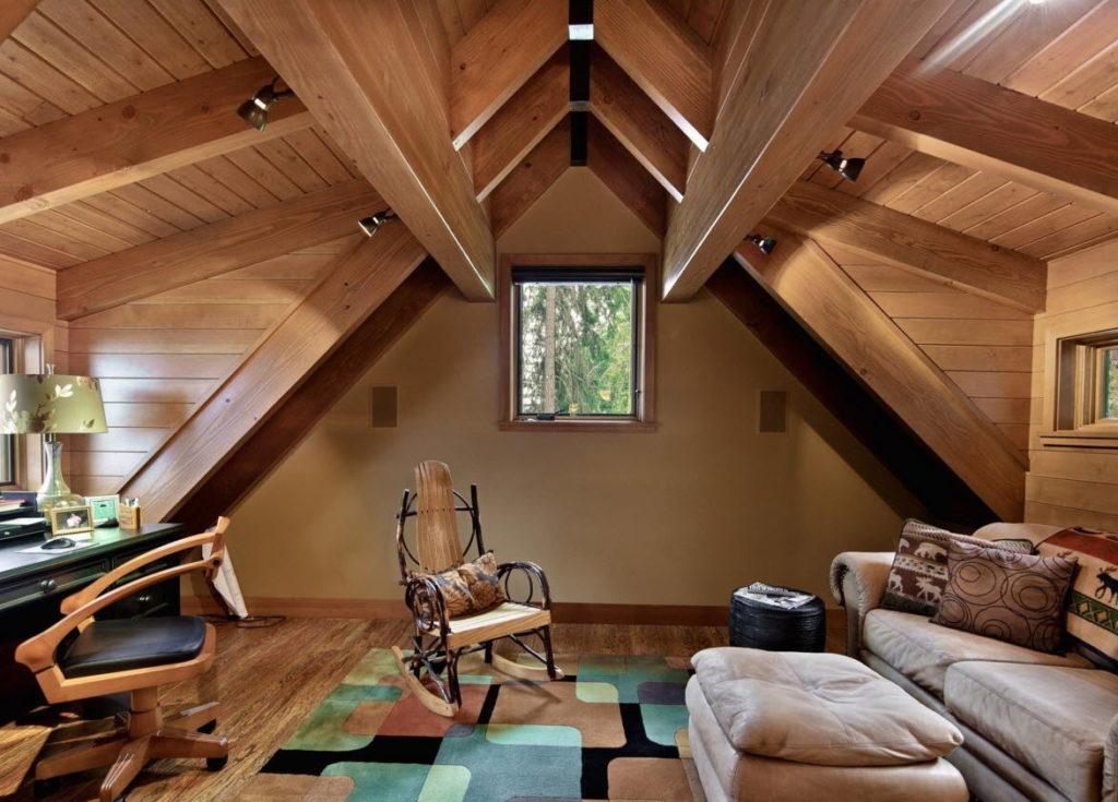 Обустройство уютной мансарды, варианты дизайна