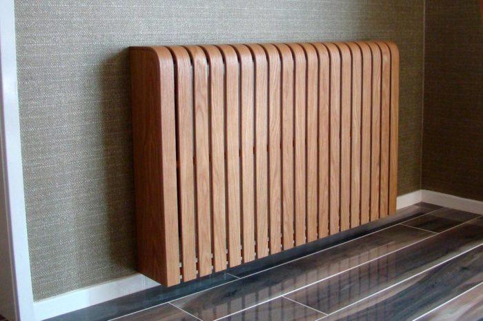 Радиаторная решетка на батарею — 60 фото вариантов