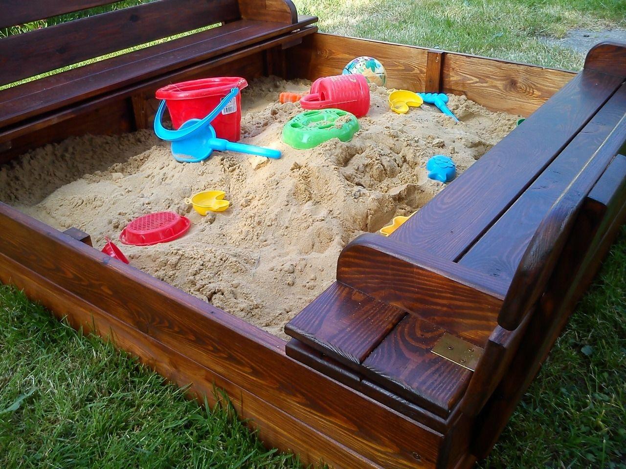 декоративные песочницы фото установить