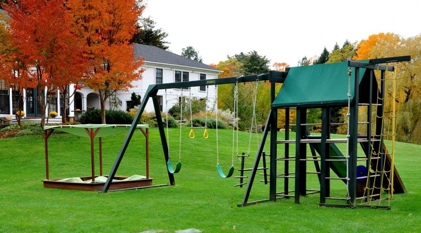 Детская площадка — 40 фото безопасных идей для частного дома
