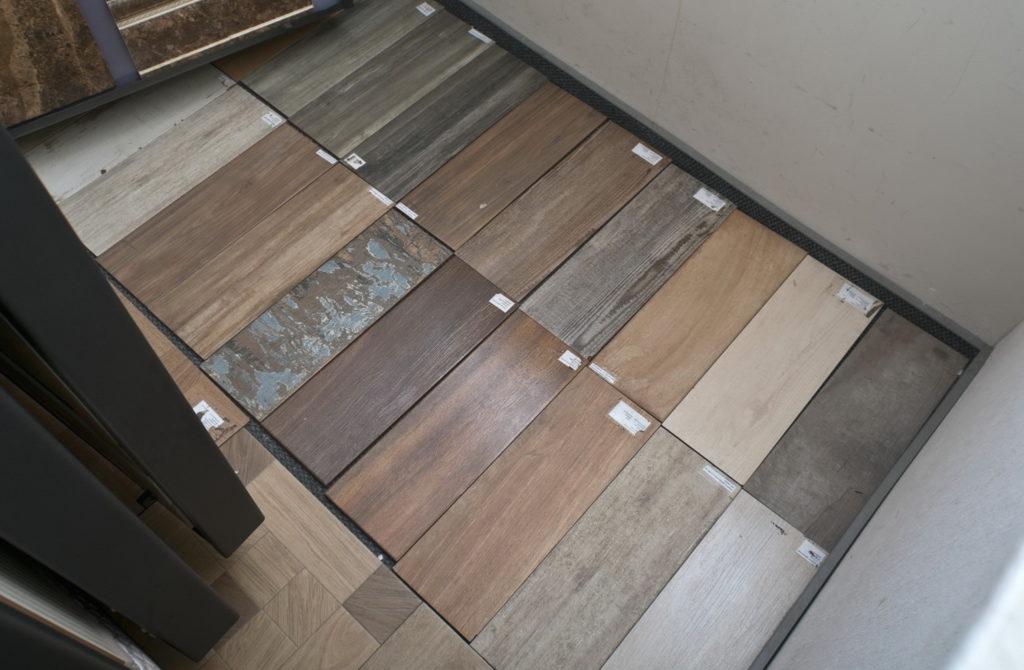 Текстура и формы плитки