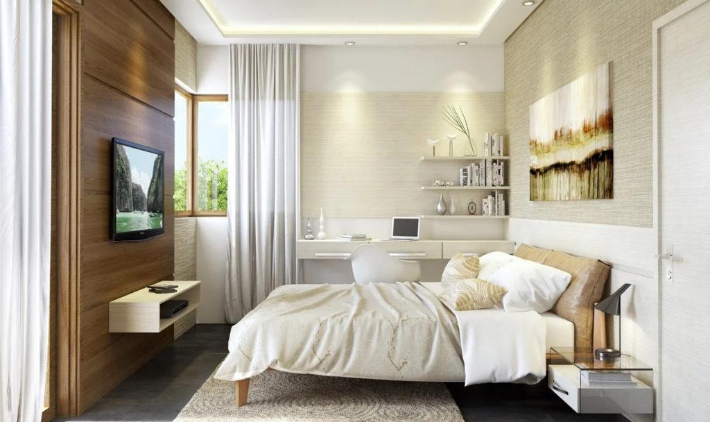 Интерьеры комнат в современном стиле