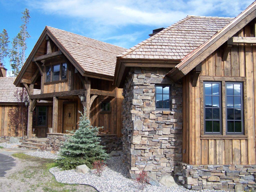 Фасад дома — фото частных домов, современные варианты и виды отделки