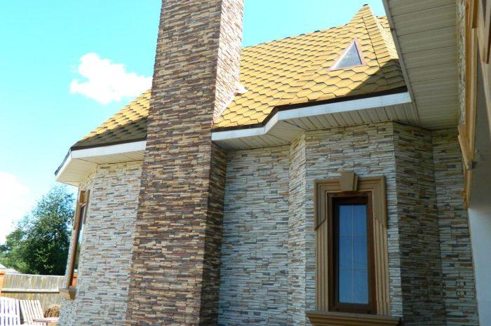Фасад дома: идеи дизайна отделки. Виды облицовочных материалов.
