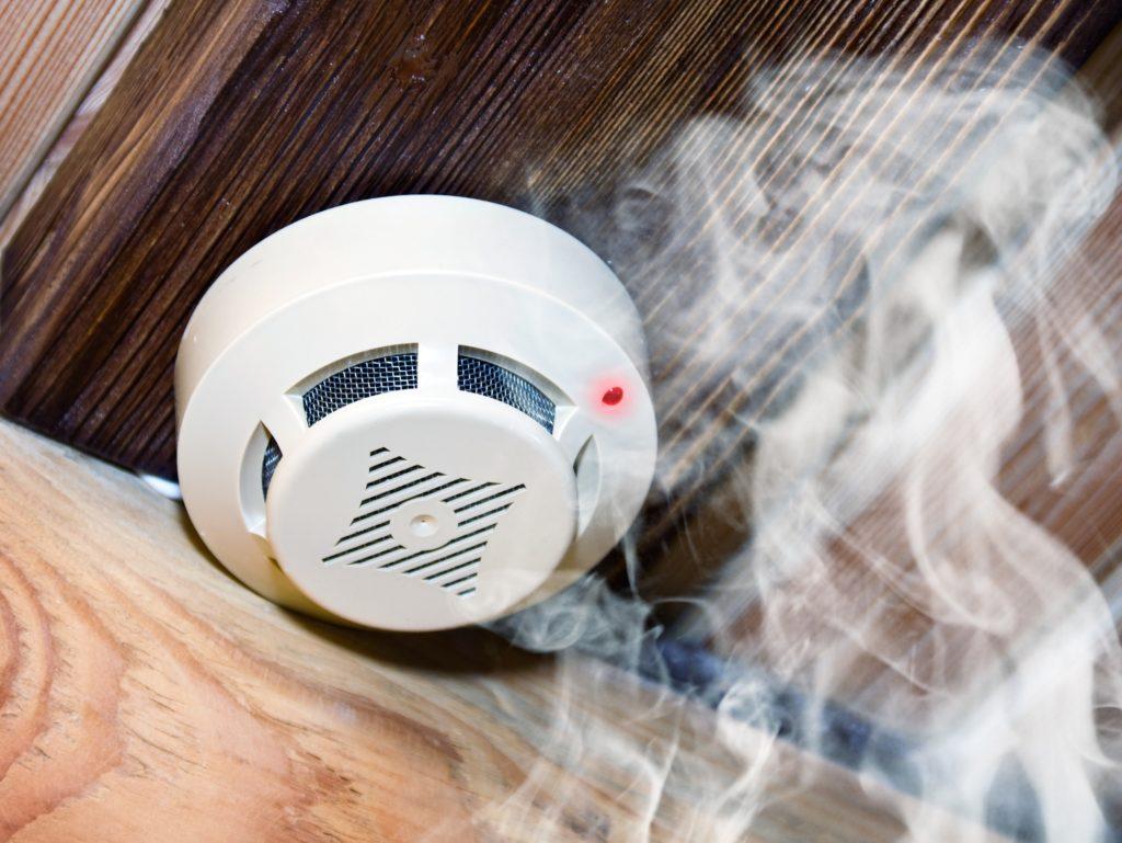 Дымовые пожарные извещатели